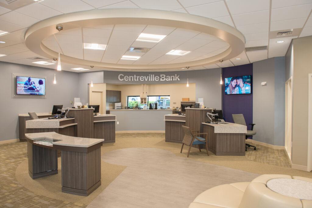Centrevilla Bank Lobby