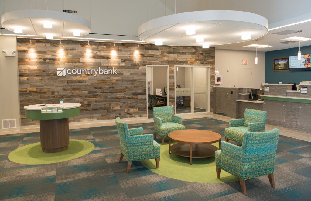 Country Bank Lobby