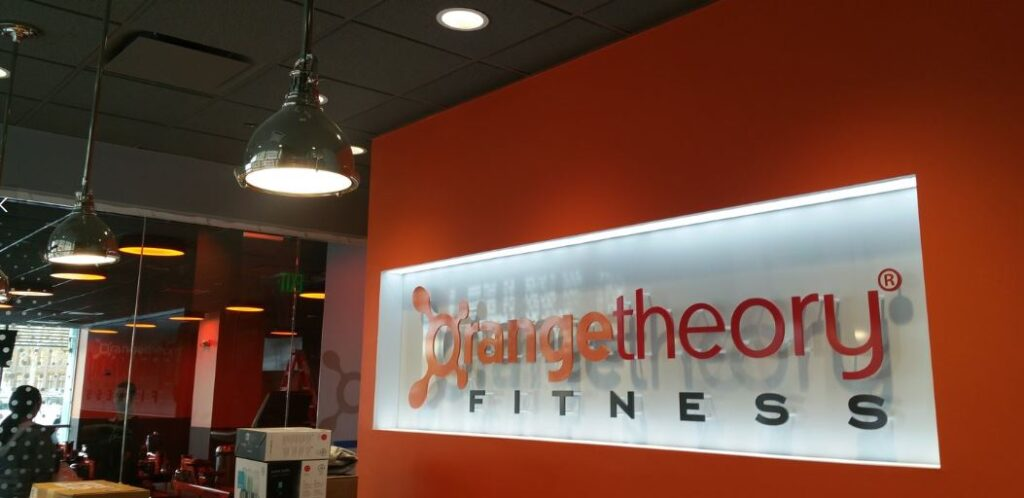 Orange Theory Fitness sign