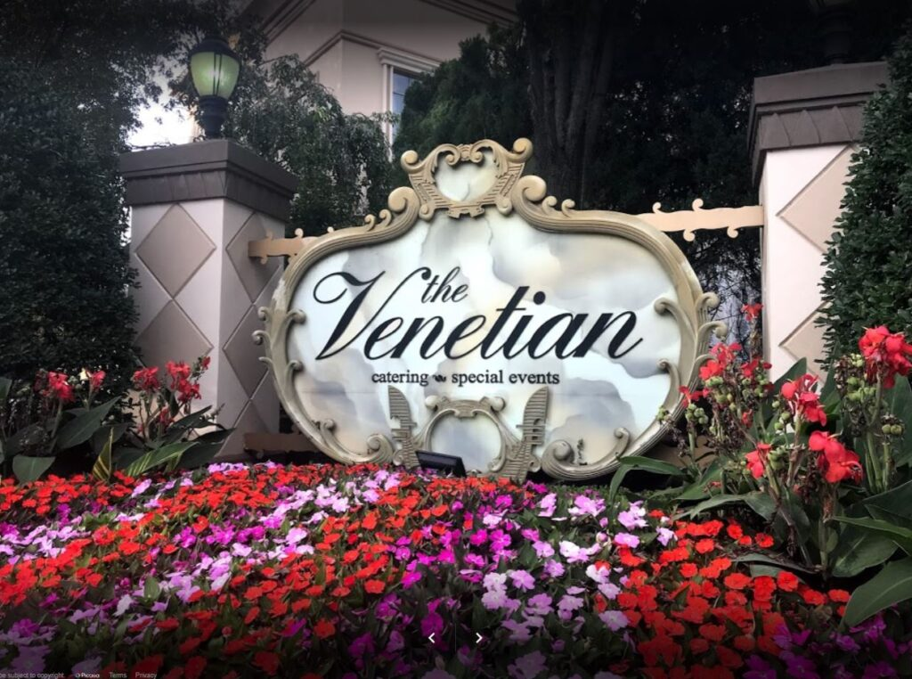 The Venetian Outdoor Sign